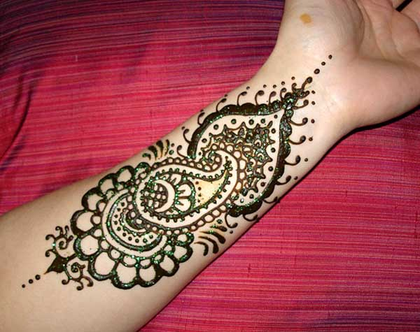 Leg Mehndi Designs Easy Only : Amazingly easy mehndi designs for hands and feet easyday