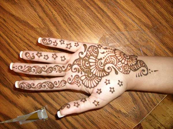 Mehndi Easy Design : Easy mehndi design for beginners easyday