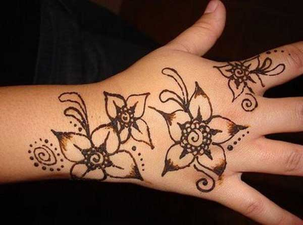 Easy Mehndi Designs For Kids Easyday