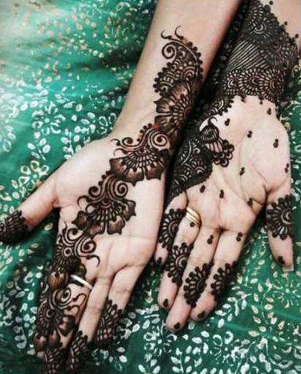 New Mehndi Patterns : Beautiful and amazing latest mehndi designs easyday