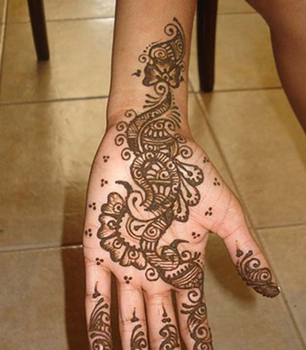 Top 10 Peacock Mehndi Designs For Hands  Easyday