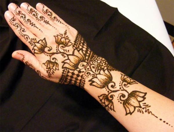 Easy Mehndi Designs Hands : Simple and easy mehndi designs easyday