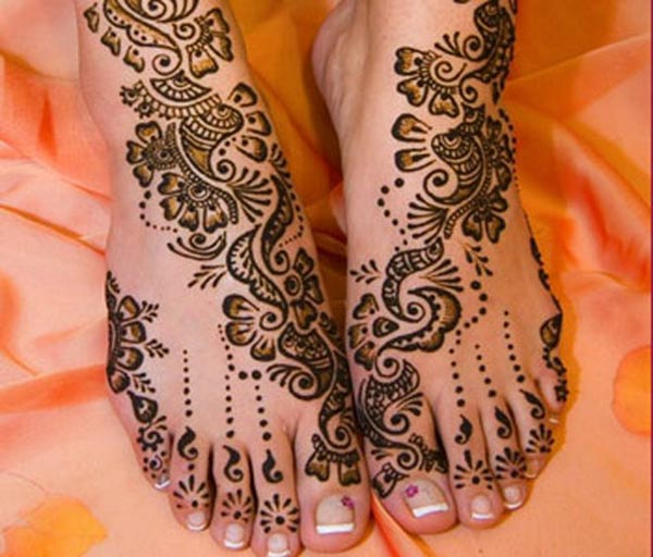 Mehndi Simple Designs For Foot : Top elegant but simple mehndi designs easyday
