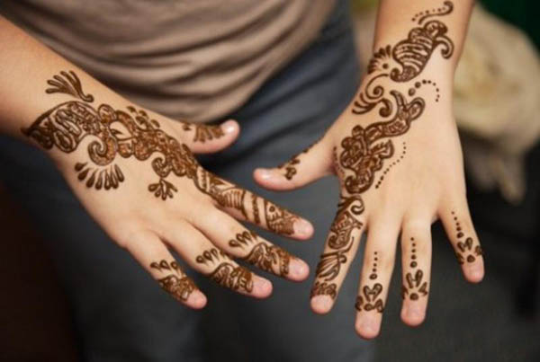Hand Mehndi Easy Design : Top elegant but simple mehndi designs easyday