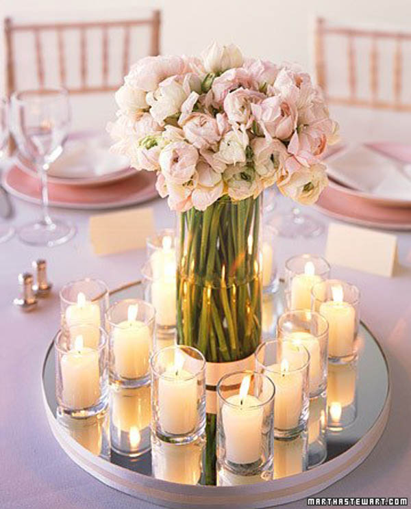 25 beautiful wedding table centerpiece ideas easyday simple wedding centerpiece ideas image marthastewart junglespirit Images