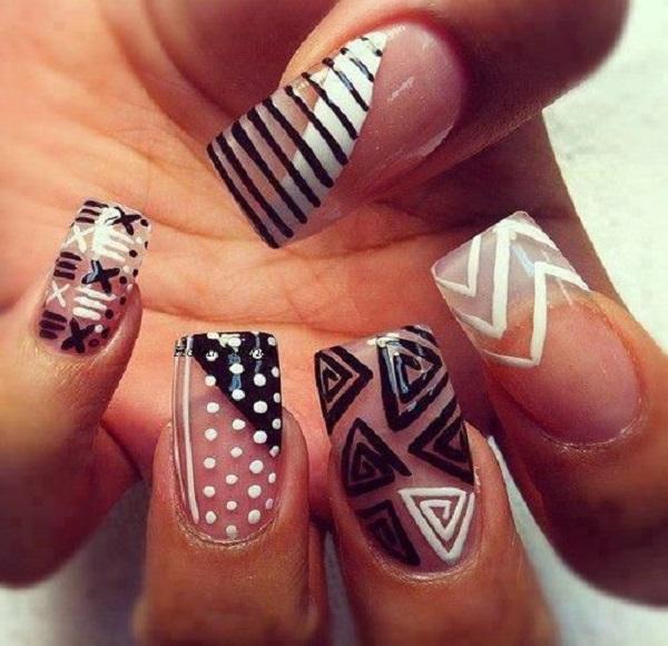 acrylic nail designs 13