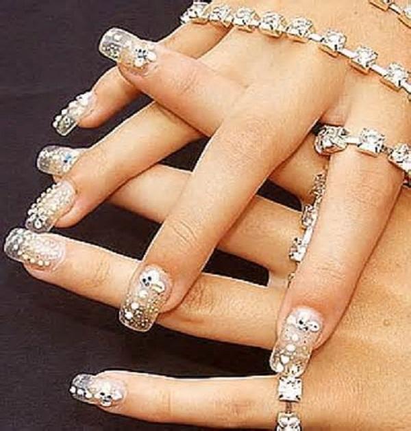 acrylic nail designs 23