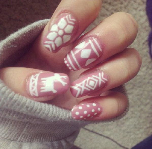 Christmas Designs For Acrylic Nails: Acrylic Nail Designs