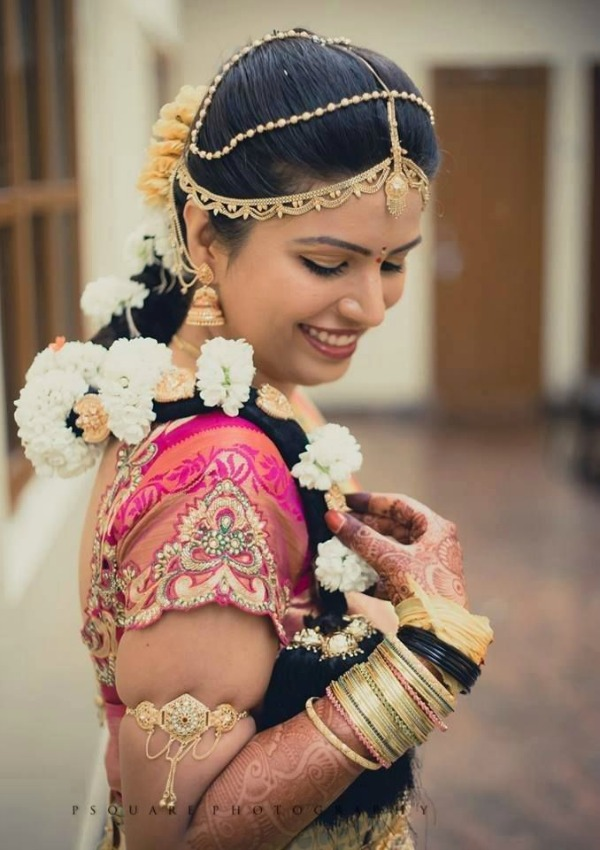 south indian hair styles for 20 indian bridal hairstyles easyday 4899