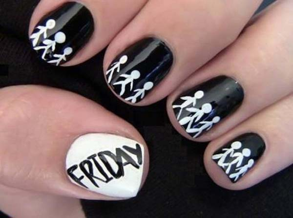 cute-black-nail-designs