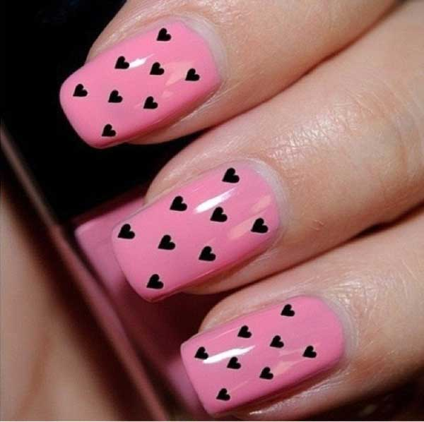 cute-pink-nail-designs