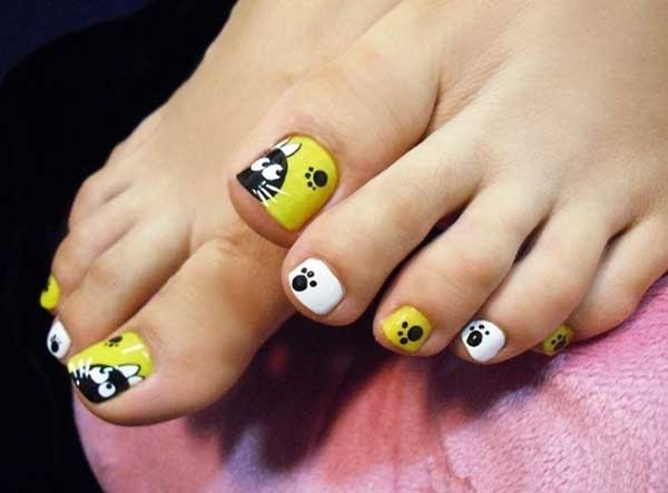 20 Fresh Toe Nail Designs Easyday