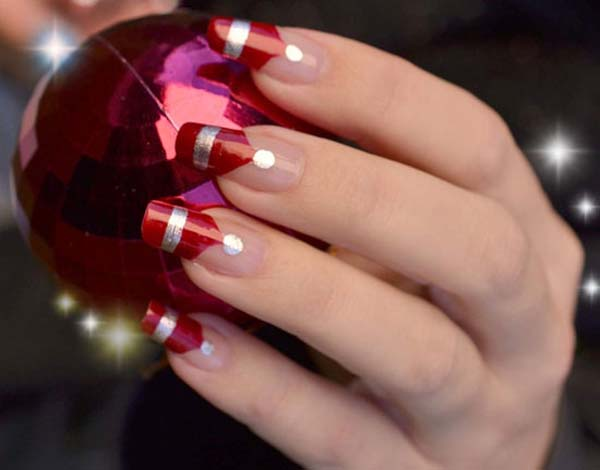 Easy Christmas Nail Art Design Easyday