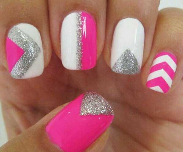 easy-nail-designs-pink