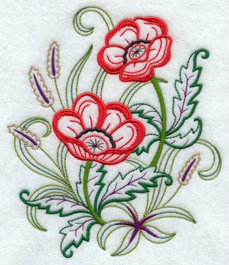 Machine Embroidery Patch Designs