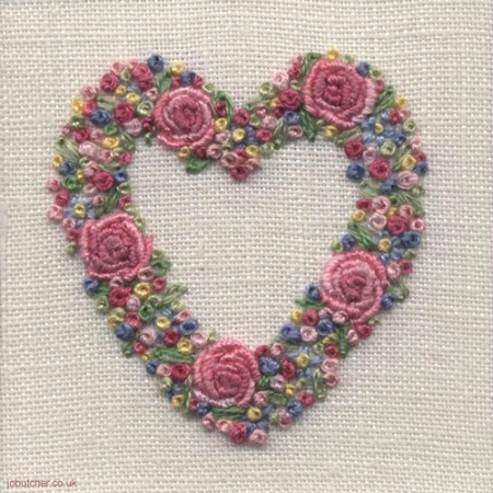 Heart Shaped Embroidery Designs