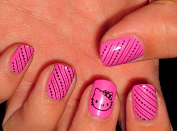 hot-pink-nail-designs-01