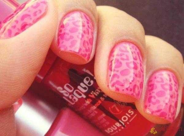 pink-nail-designs-for-short-nails