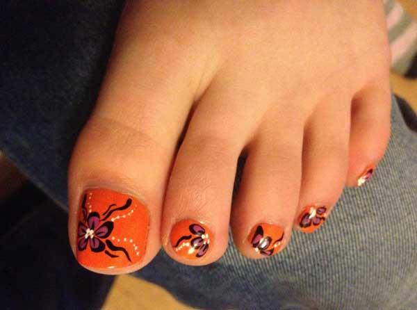20 fresh toe nail designs easyday summer toe nail designs prinsesfo Image collections