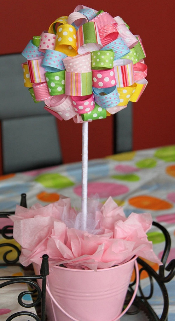 Baby shower deco girls 10 easyday for Baby shower decoration tips