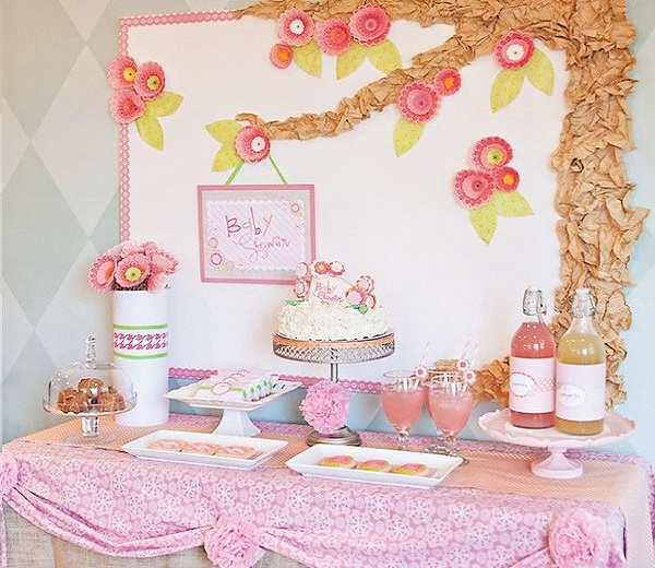 Baby Shower Deco Girls 2 Easyday