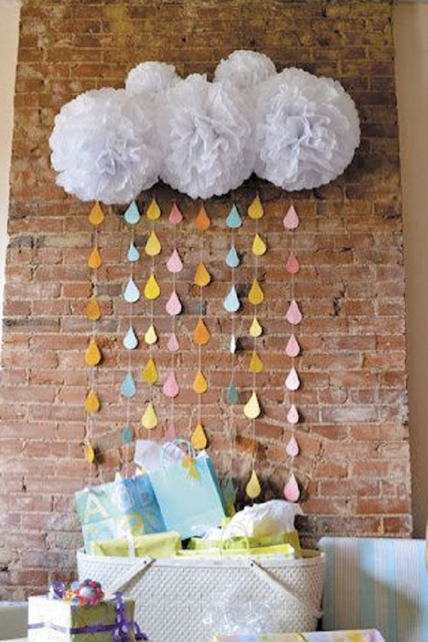 18 baby shower decorating ideas for girls easyday for Baby shower decoration ideas homemade