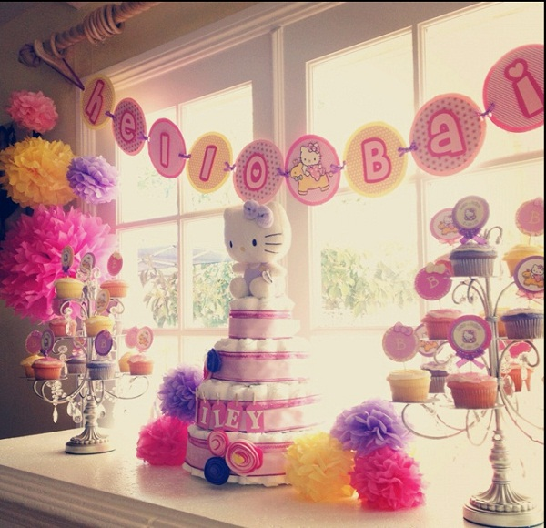 girl baby shower themes 2014 pink and brown butterfly baby girl