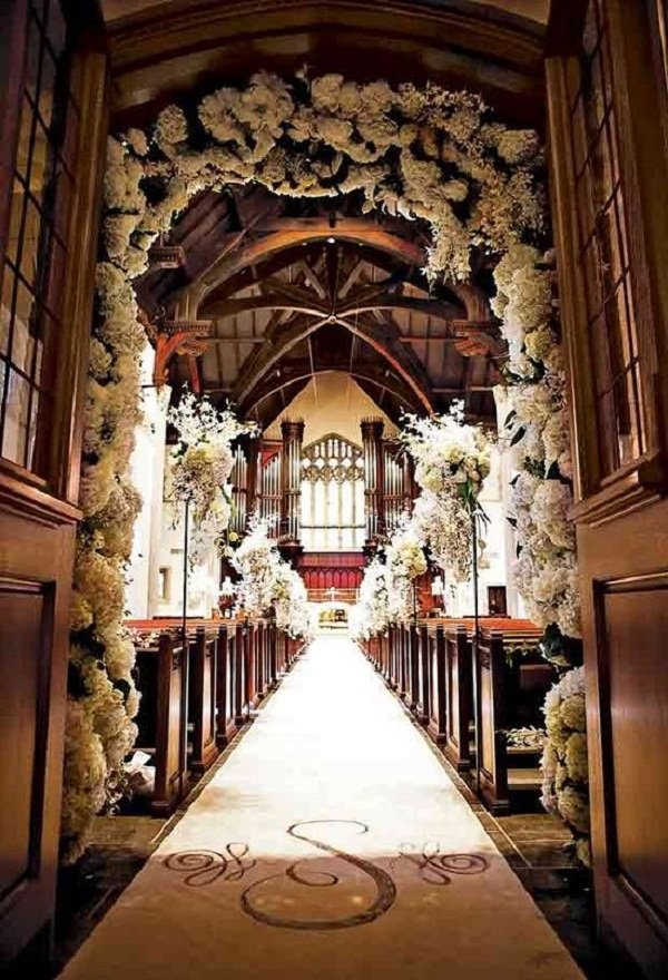 Creative church wedding decorations easyday junglespirit Images