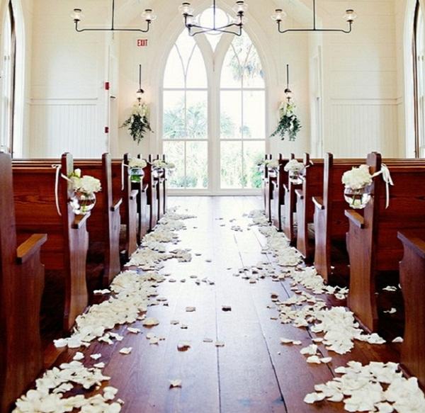 Wedding Church Decorations Ideas: Creative Church Wedding Decorations