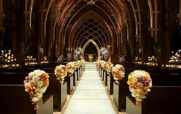 Creative church wedding decorations easyday simple church wedding decorations image source junglespirit