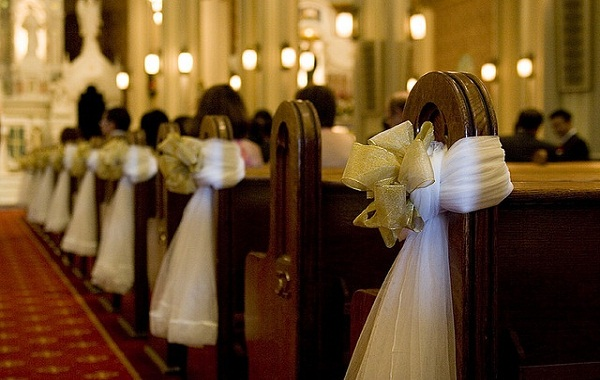 Creative church wedding decorations easyday image source image source junglespirit Images