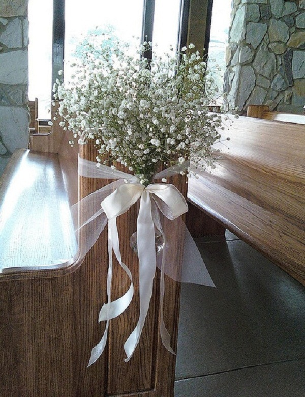 Creative church wedding decorations easyday image source junglespirit Choice Image