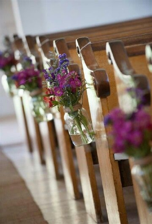 Creative church wedding decorations easyday diy church wedding decorations image source junglespirit Gallery