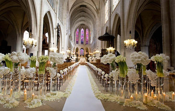 Church Wedding Decorations Ideas. Image: Source