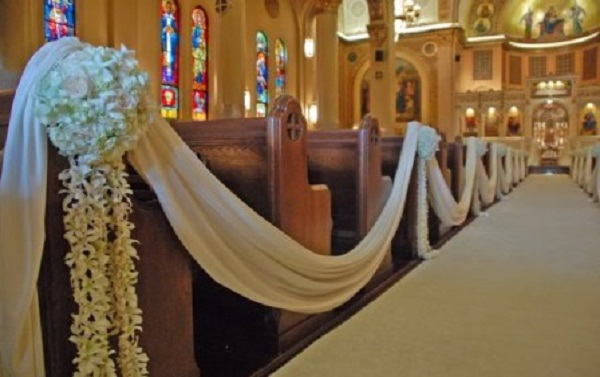 Creative church wedding decorations easyday image source junglespirit Image collections