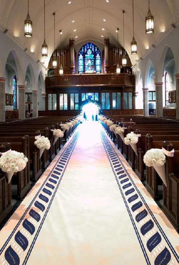 Creative church wedding decorations easyday church aisle wedding decorations image source junglespirit Choice Image
