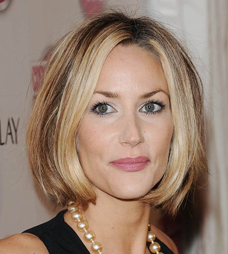 celebrity hairstyle short