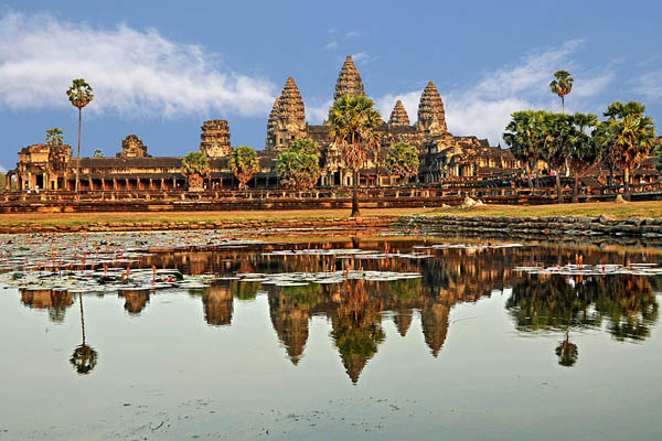 Angkor Wat in Siem Reap, Cambodia Image: Source