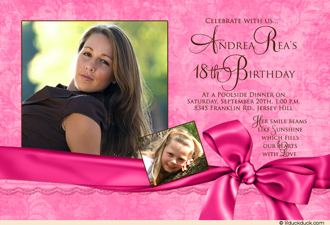 ... 18th Birthday Invitation Cards Should Look: Source