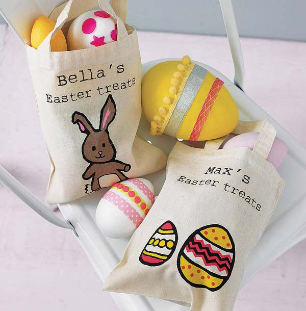 Personalised Easter Egg Hunt Bag from Not on the High Street