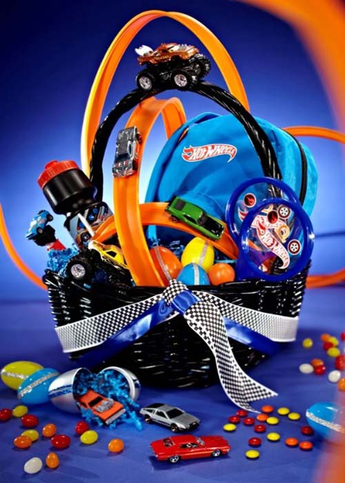 Easter Gift Basket for Boys from Womenio