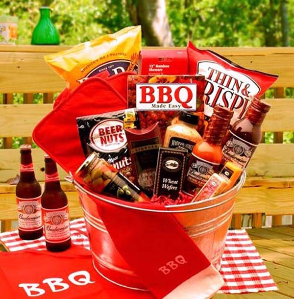 Cute and inexpensive easter gift ideas easyday bbq gift basket from gift baskets negle Choice Image