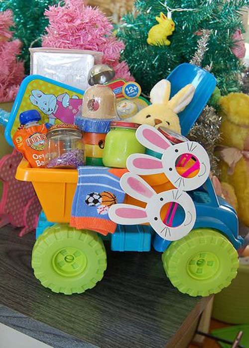 Cute and inexpensive easter gift ideas easyday easter basket for baby from flickr negle Gallery