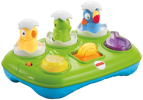 Fisher-Price Musical Pop-Up Eggs from Amazon