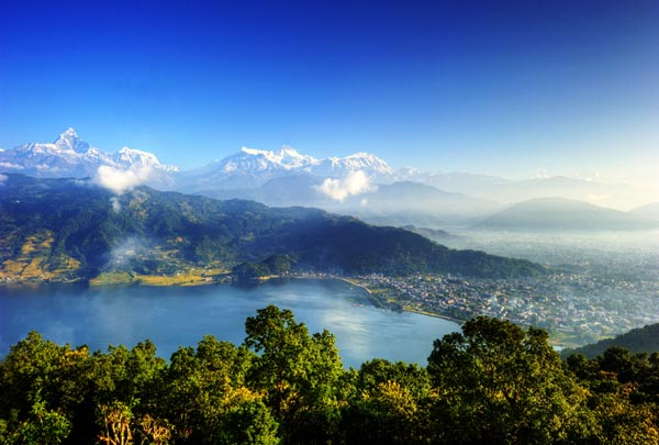 The City of Pokhara Image: Flickr