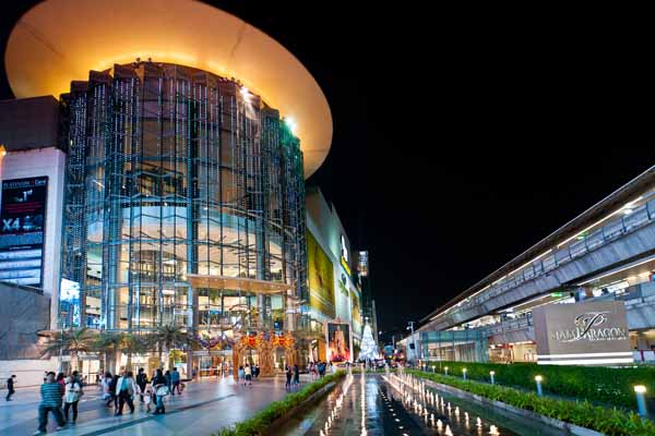 Siam Paragon in Bangkok, Thailand Image: Source