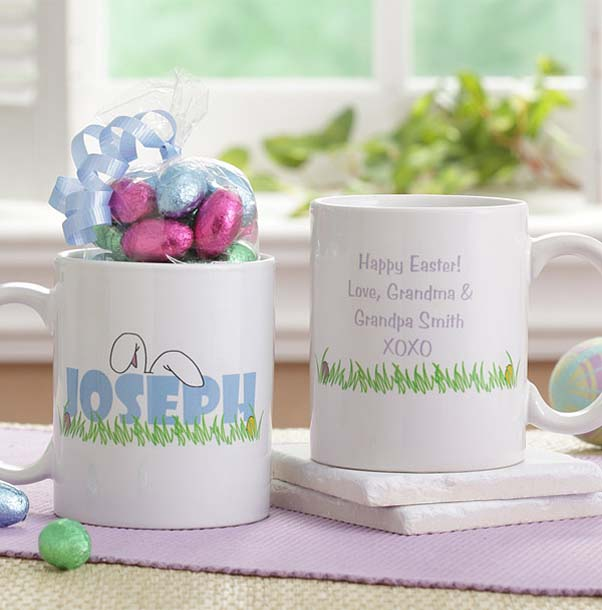 Personalized Easter Coffee Mugs from Personalization Mall