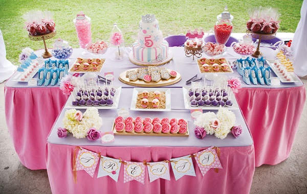 princess themed party 2