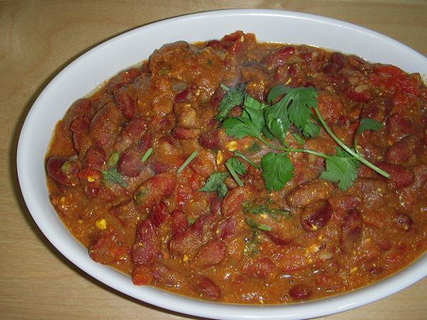 Rajma - North Indian Style (Easy Indian Cookin Book)