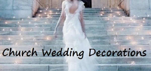 Church Wedding Decorations title